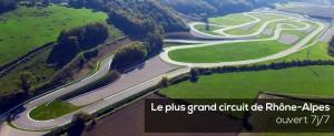 Dronelink Circuit du Laquais vue Aérienne