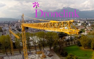 Dronelink Grue 1 Photo aérienne Grenoble