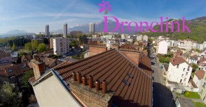 Dronelink Toiture Photo drone grenoble 3
